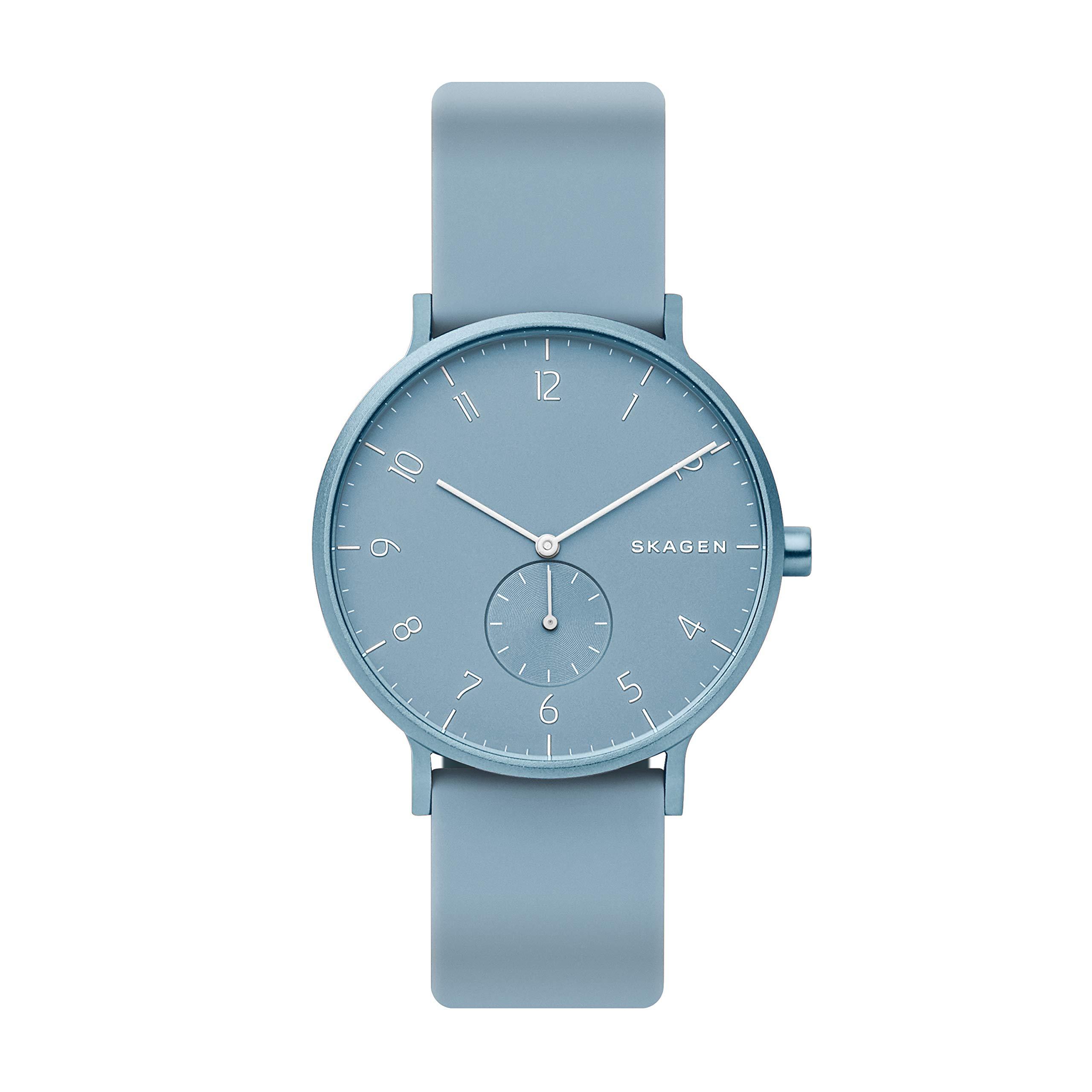 Skagen Women's Analog Quartz Watch Strap Silicone