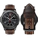 MroTech Cinturino Compatibile con Samsung Galaxy Watch 46 mm/Gear S3 Frontier/Classic Banda 22mm de Ricambio per Huawei Watch