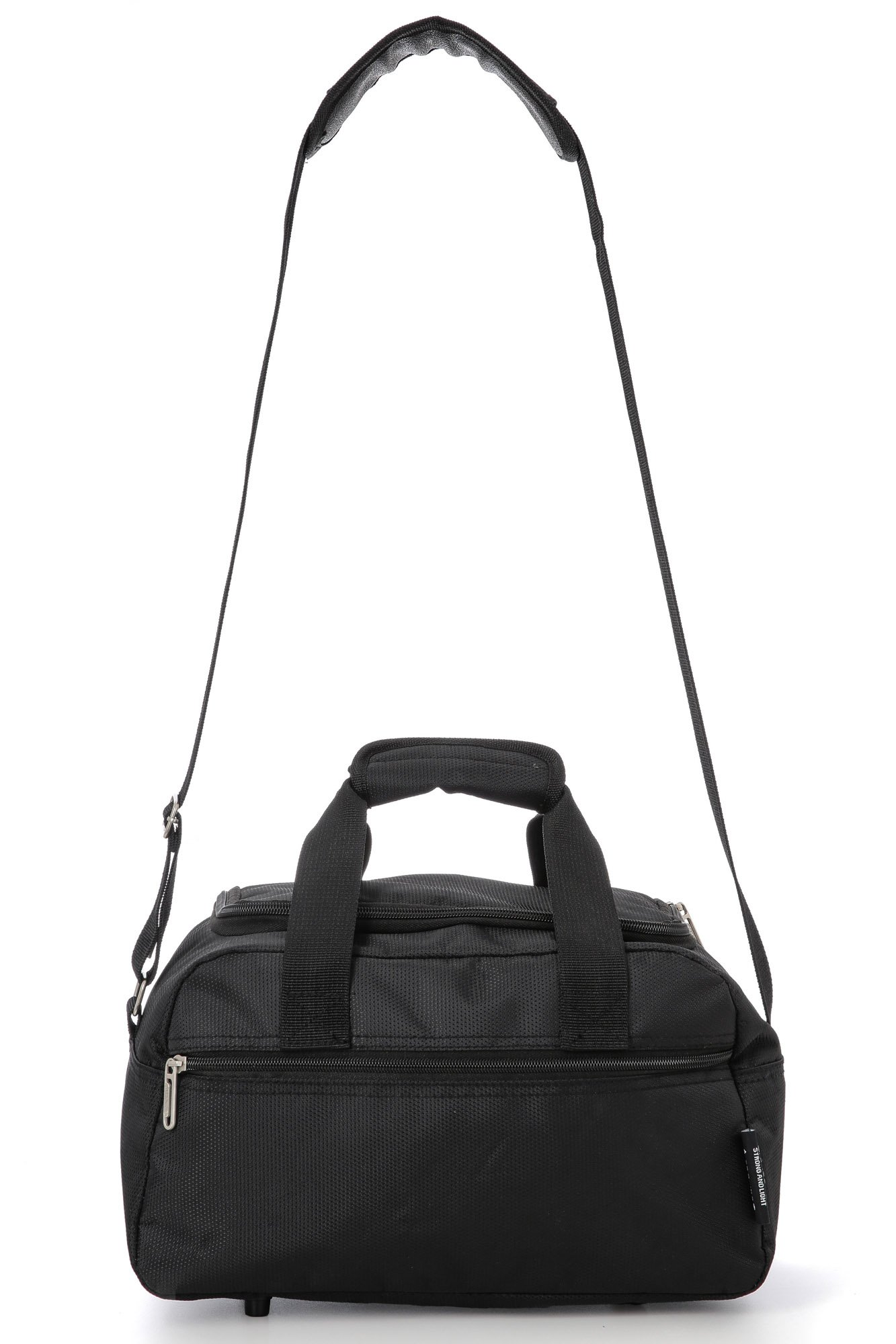 71y3isx5KnL - Aerolite Holdall Maximum Ryanair Hand Luggage Cabin Sized Flight Shoulder Bag Equipaje de Mano, 35 cm, 14 Liters, Negro…