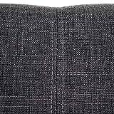 Esszimmerstuhl HWC-A50 II, Stuhl Lehnstuhl, Retro 50er Jahre Design ~ Textil, dunkelgrau - 6