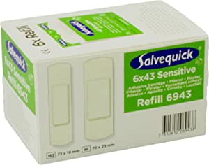 Salvequick Pflasterspender Und Refill Verschiedene Sorten Karton á 6 Refills Grün Non Woven Vlies Ref 6943 Drogerie Körperpflege