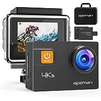 APEMAN Action Cam A80, UHD 4K WiFi 20MP Unterwasserkamera Digitale wasserdichte 40M Helmkamera (kostenlose…
