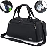 BonClare Sports Duffle Bag with Shoes Compartment and Wet Pocket, 42L Waterproof Gym Bag for Men and Women, Durable…