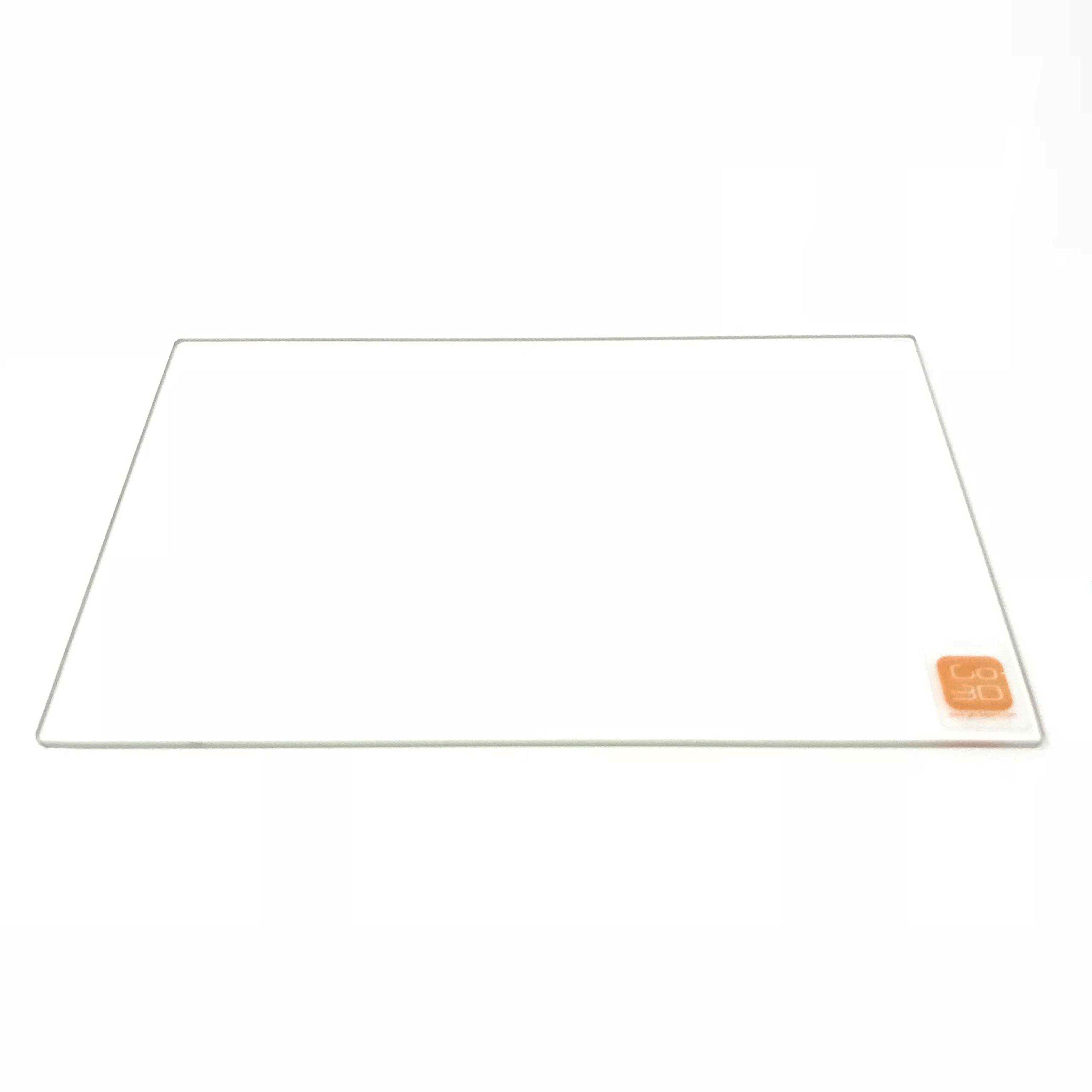 155mm x 235mm Plaque de verre borosilicate/lit pour Flashforge Creator Pro Dreamer imprimante 3d