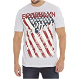 New Mens Printed T-Shirts Short Sleeve Crew Neck T Shirts Cotton Tees Casual Top Summer Outdoor Fun American Vintage Citys Re