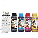 4x 100 ml Sublimatie-inkt, Sublimation Ink compatibel voor Epson, Brother, Roland, Mimaki, Mutoh, CMYK