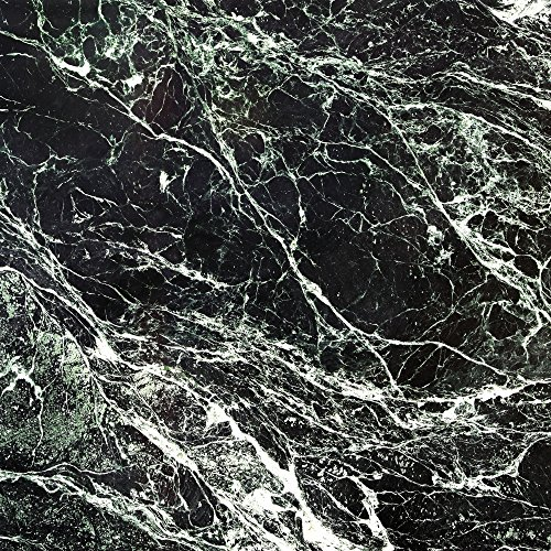 amazon-Echo-Folie-Skin-Sticker-aus-Vinyl-Folie-Aufkleber-Marmor-Look-Schwarz-Black-Marble-Marmoriert