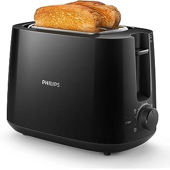 Philips HD2581/90 Grille-Pains Noir
