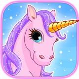 Ponis y unicornios : Encuentra las diferencias - Juegos de lógica para bebés, niños en edad preescolar y niñas pequeñas