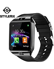 Styleflix Smartwatch Bluetooth with Camera Sim Card Supported, Health Fitness Tracker Smart Watch for Mens Boys and Girls