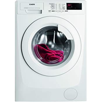 AEG L68480FL Waschmaschine / 8,0 kg / Nachlegefunktion / Kindersicherung / Schontrommel / Wasserstopp / 1400 U/min