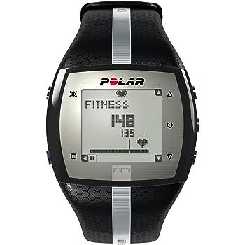 Polar FT7, Cardiofrequenzimetro Uomo, Nero/Grigio, Taglia Unica