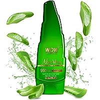 WOW Aloe Vera Multipurpose Beauty Gel for Skin and Hair, 130ml + 20ml
