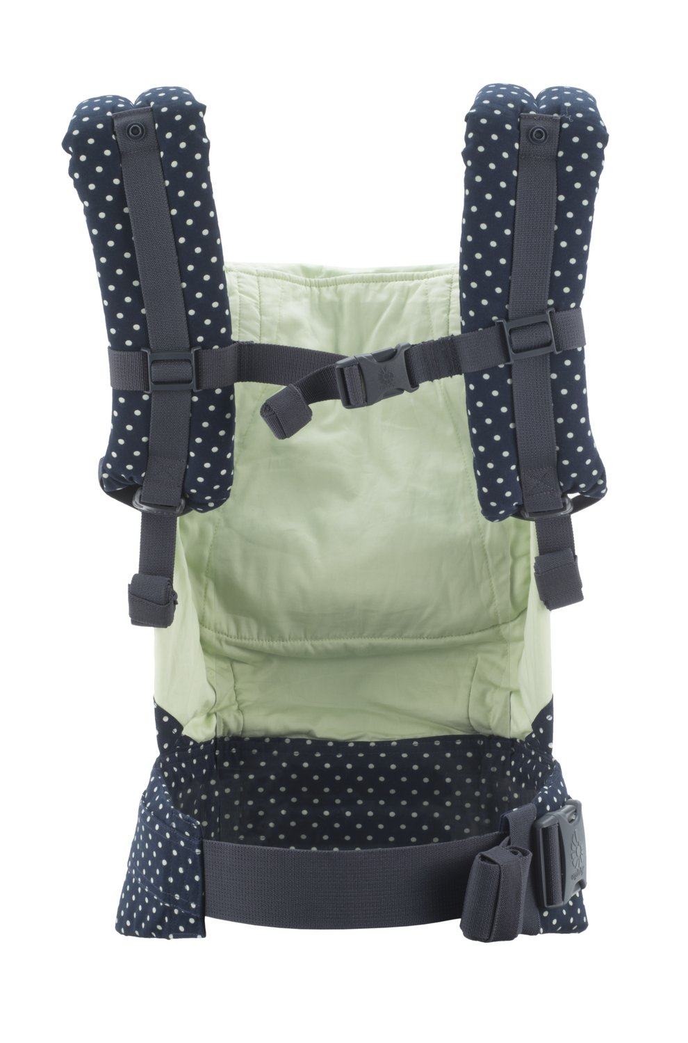 Ergobaby Original Collection Evolutionary Backpack Baby Carrier one size Ergobaby The baby's weight is evenly distributed between the wearer's hips and shoulders. The baby is ergonomically cradled in a natural seated position. It has front, back, and hip carrying positions. 5