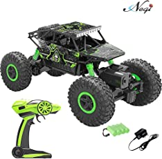 Remote control buy remote control games online at best prices in negi 118 rechargeable rock crawler 4wd 24 ghz 4x4 rally car rc monster truck fandeluxe Image collections