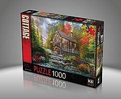 Ks Games- The Old Wood Mill  Dominic Davison 1000 Parça Puzzle