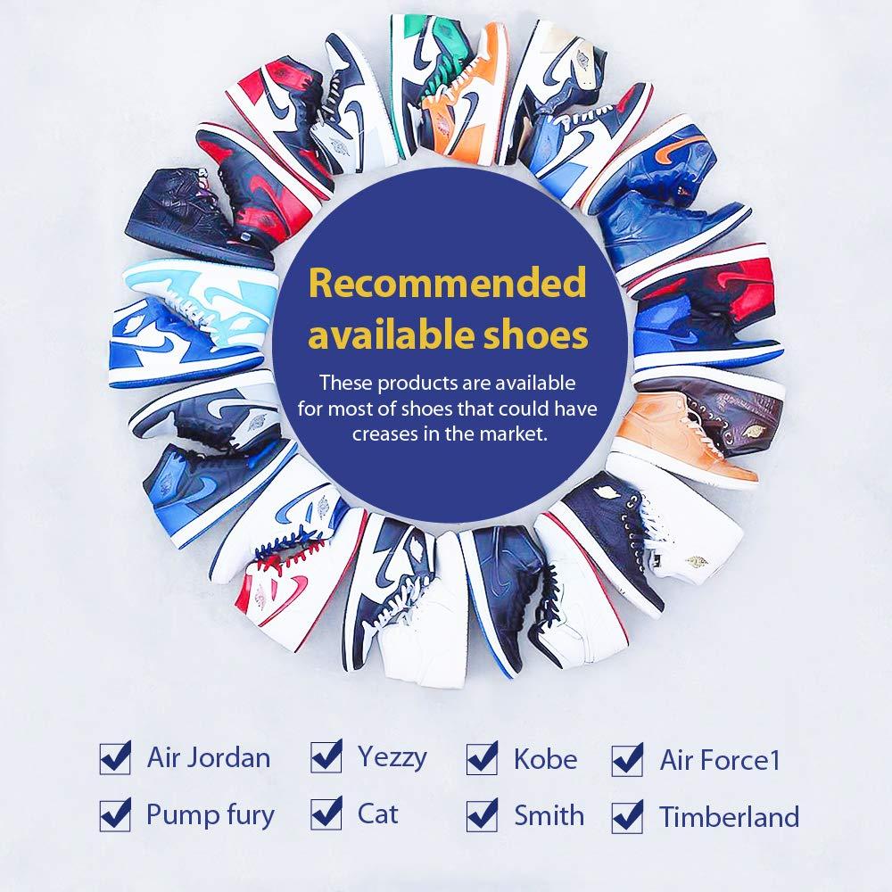 CuteHome Protezione per scudi delle sneaker contro le pieghe