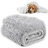 MMTX Fluffy Copertine per Cani Coperta per Gatti Lavabile Soffice Coperta Cane Morbido Caldo Cucciolo Animali Domestici Coper