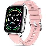 Judneer Smartwatch, 1.69 Zoll Voll Touch-Farbdisplay Armbanduhr mit Pulsuhr Fitness Tracker, IP67 Wasserdicht Smart Watch And