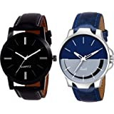 FENTIQ Analogue Dial Men's & Boys' Watch (Pack of 2)