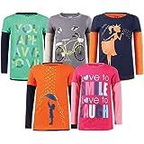 Elk Girls' T-Shirt (Pack of 5)