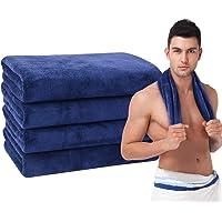 VIVOTE microfibre Gym Towels Sports Sweat Towel Super Absorbent Ultra Soft Multi-Purpose Man Women Fitness Workout…