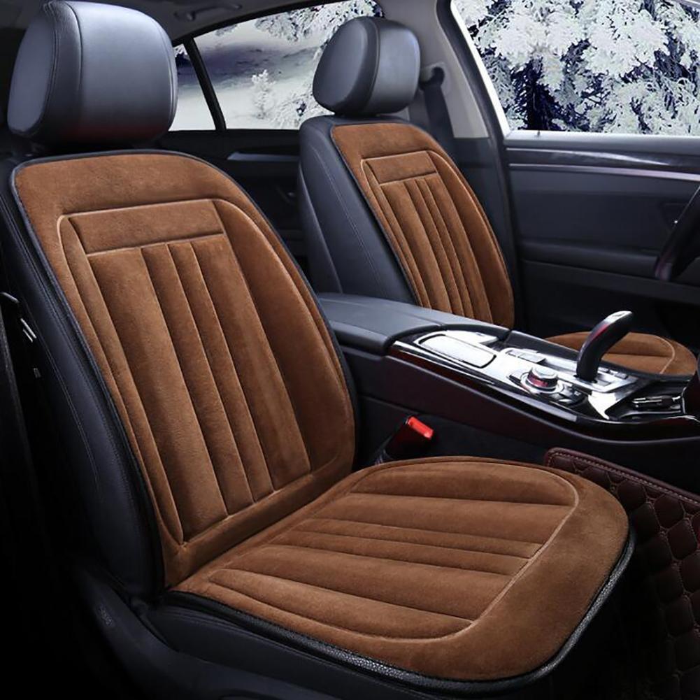 MIAO Cuscino riscaldante per seggiolino auto, auto invernale universale 12V / 40W, sedili riscaldati