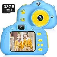 Ikotayou kids camera kids digital camera for boys girls 1080P selfie photo camera ...