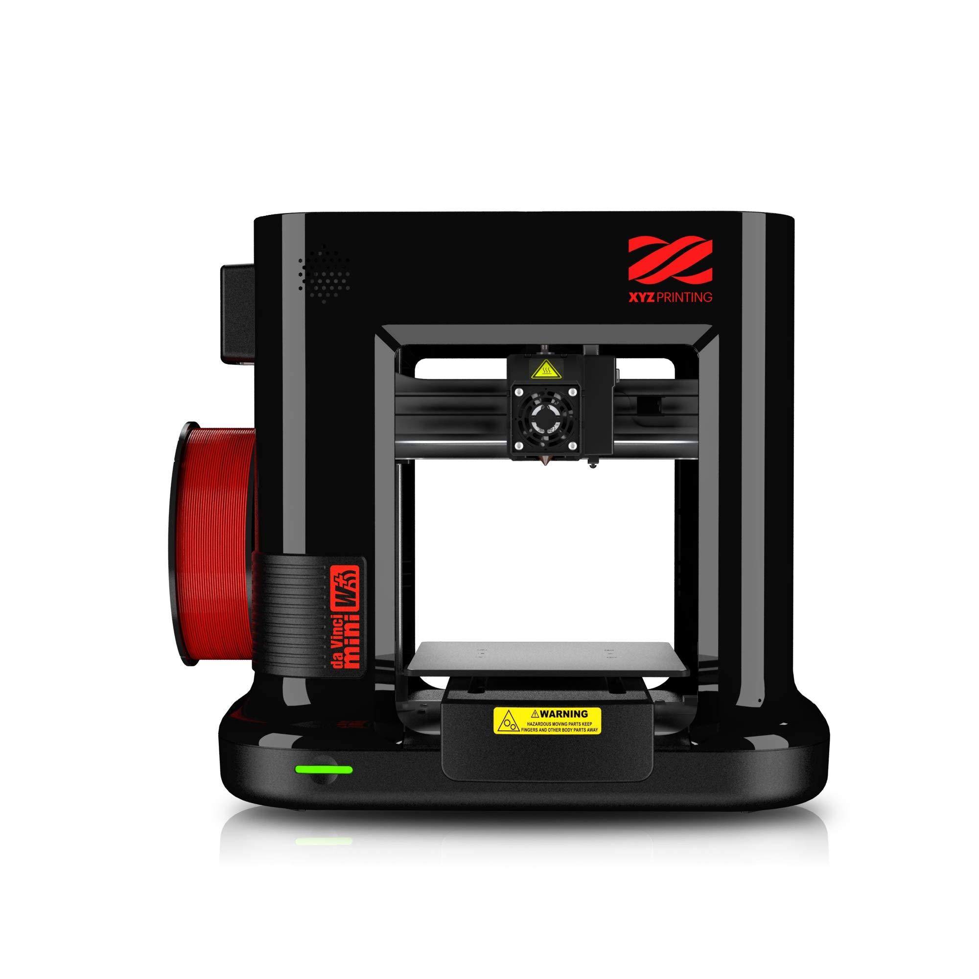XYZprinting Imprimante Noire Da Vinci W 3D Printer avec Filament