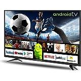 شاشة تلفزيون 32 بوصة LED Android من نيكست ريدلاين، طراز RED-32K1000، لون اسود