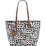 Be Mine Shopper Zooky   schicke Kunstleder Damenhandtasche   große Shopper Handtasche für Damen (42,5 x 29,5 x 13,5 cm)