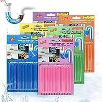 Drain Sticks JOYXEON Drain Cleaner Sticks Deodorizer Enzymatic Drain Cleaning Sticks for Kitchen Sink Bathroom Toilet…