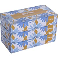 KLEENEX® Facial Tissue Box 60035-2 ply Flat Box Facial Tissue - 3 Tissue Boxes x 100 Face Tissues - Sheet Size 21 x 21…