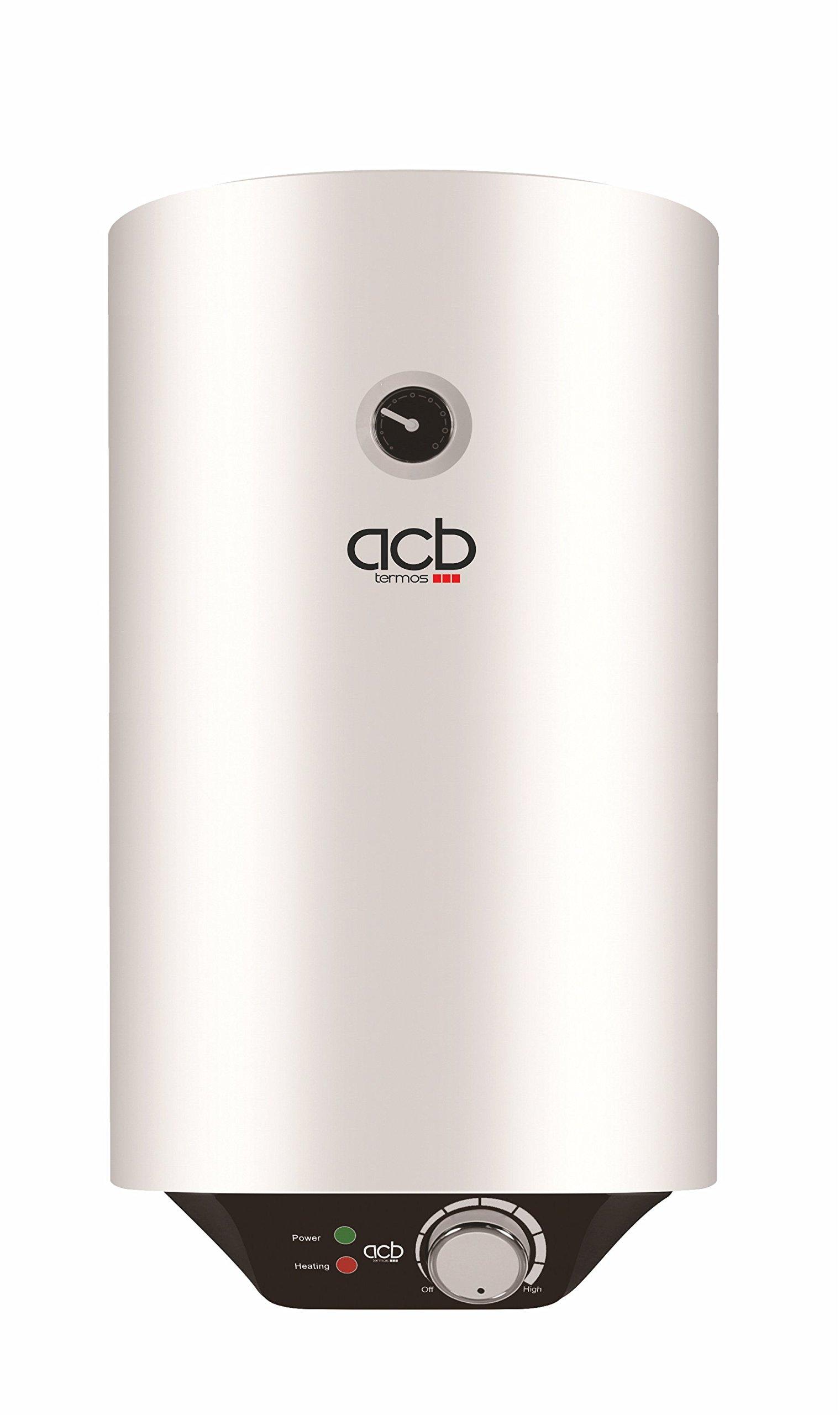 Termo agua eléctrico 80 litros vertical ACB Europe