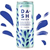 Dash Water Cucumber - 12 x Cucumber Flavoured Sparkling Spring Water - NO Sugar, NO Sweetener, NO Calories - Infused…