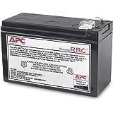 APC APCRBC110 - Ersatzbatterie für Unterbrechungsfreie Notstromversorgung (USV) von APC - passend für Modelle BE550G-GR / BR550GI