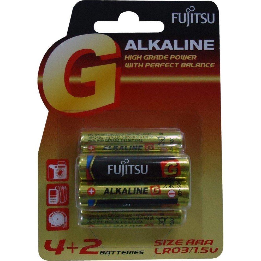 pila alkalina ministilo aaa blister 4+2 pz Fujitsu