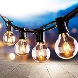 Osaloe Catene Luminose 25 pcs, 9.5 M/31FT Stringa Luci Catene Luminose G40 Impermeabile e 3 Lampadine a Ricambio…