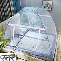 Sagibo Blue Net for Double Bed,King-Size,Strong 30GSM Net,High Durability,Foldable,Corrosion Resistant,Lightweight with…