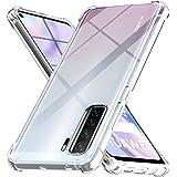 Ferilinso Cover voor Huawei P40 Lite 5G Case, [Versterken versie met vier hoeken] [Camera Care Protection] Shockproof Soft TP