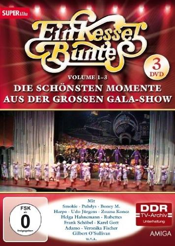 Die schönsten Momente aus der großen Gala-Show, Vol. 1-3 (DDR TV-Archiv) (3 DVDs)