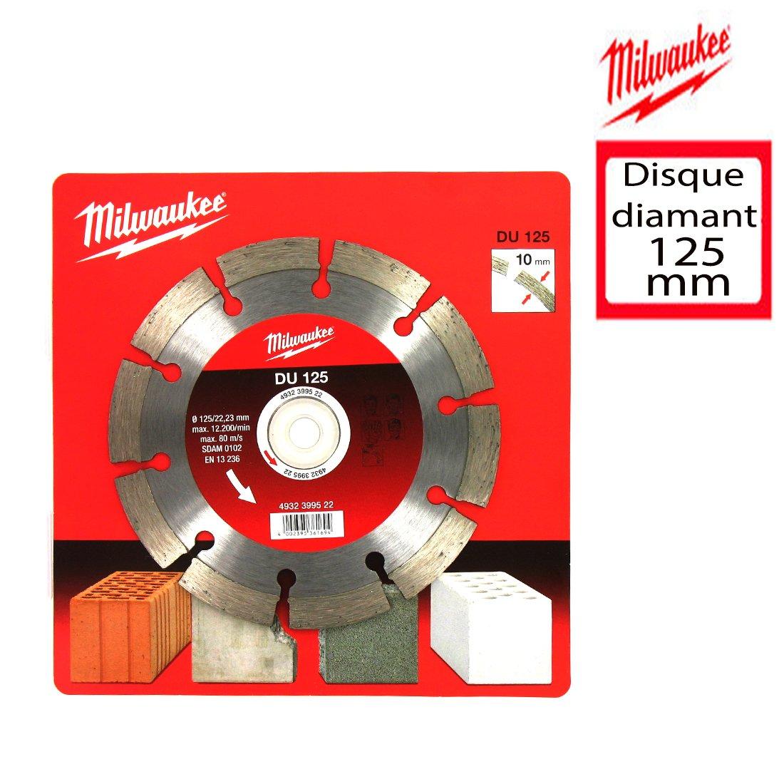 Milwaukee Disco Diamamnte 125Mm
