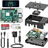 TICTID Raspberry Pi 4 Model B 2GB Kit/Upgraded Raspberry Pi 3 mit Quad-Core ARM-Cortex-A72/ 32GB Class10 Micro SD-Karte/unterstützt Bluetooth 5.0 /Dual Display 4K 60Hz und 1080P oder Zwei 4K 30Hz