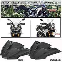 Moligh doll Parafango Anteriore Corto Moto per Victory Bonneville T100 Scrambler Thruxton 90 01-16 Nero Opaco