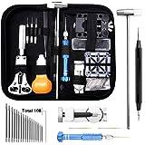 Dobee 153 Pezzi Tool Kit di Riparazione Orologi, Orologiaio Strumenti riparazione Set Professionale orologio attrezzi…