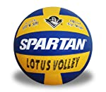 Spartan Lotus Volley Korean Pu - Approved by VFI Volleyball - Size 4