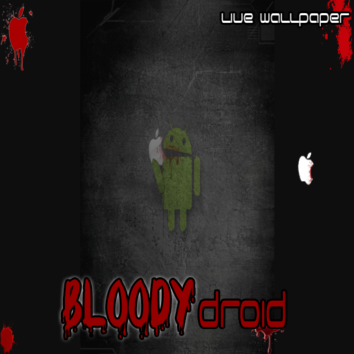 Live Wallpaper - Bloody AnDroid (Wallpaper Droid Halloween Live)