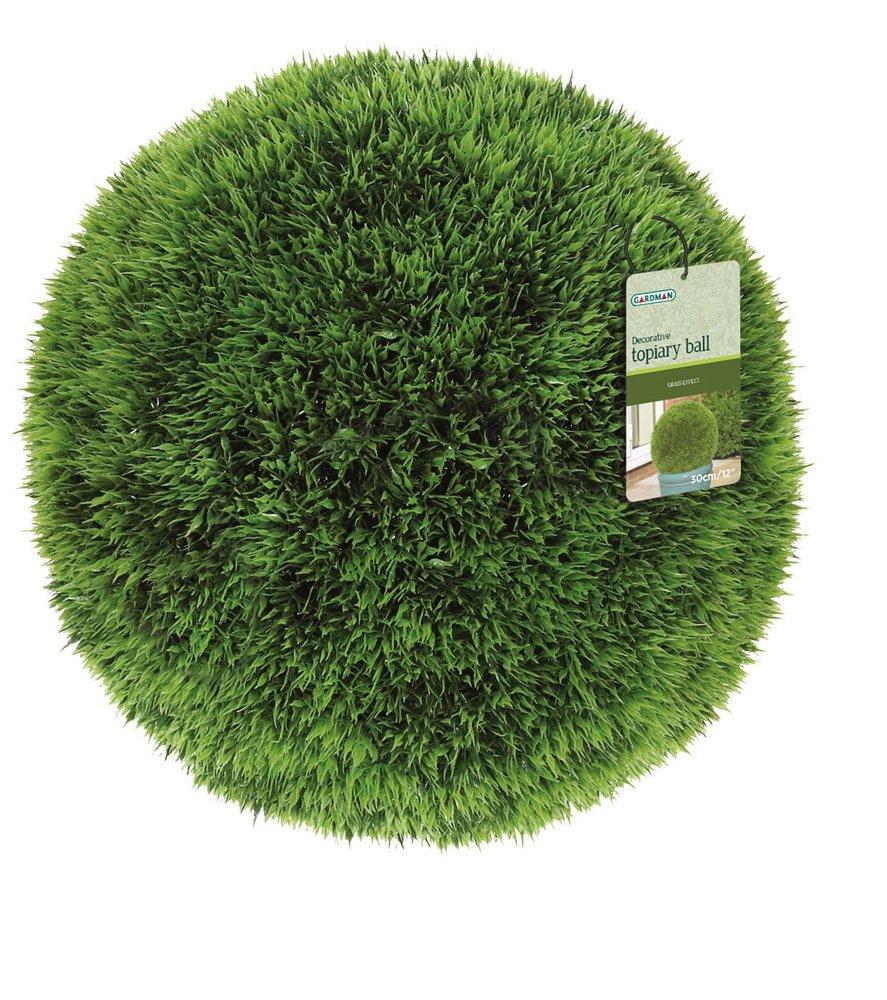 40cm Topiary Balls Part - 40: Gardman 40 Cm Diameter Topiary Ball Grass Effect: Amazon.co.uk: Garden U0026  Outdoors
