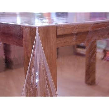 tischdecke transparent eckig verschiedene gr en 110 x 140 cm k che haushalt. Black Bedroom Furniture Sets. Home Design Ideas