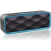 Aigoss S1 Altoparlante Bluetooth Portatile per Esterni V4.2 Vivavoce Integrato con Doppio Driver Cassa, Audio HD e Radio…